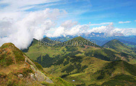 kitzbuehel alps panorama no 4