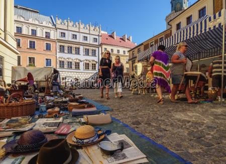 flea market on the market square