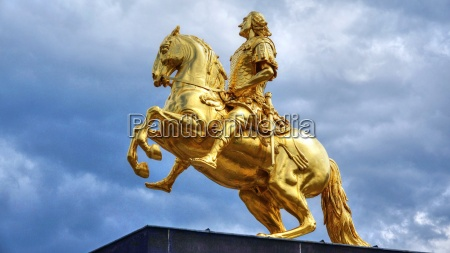 equestrian statue of augustus ii the