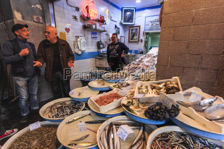 fish shop via dei tribunali city